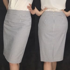 NWT Banana Republic Striped Pencil Skirt